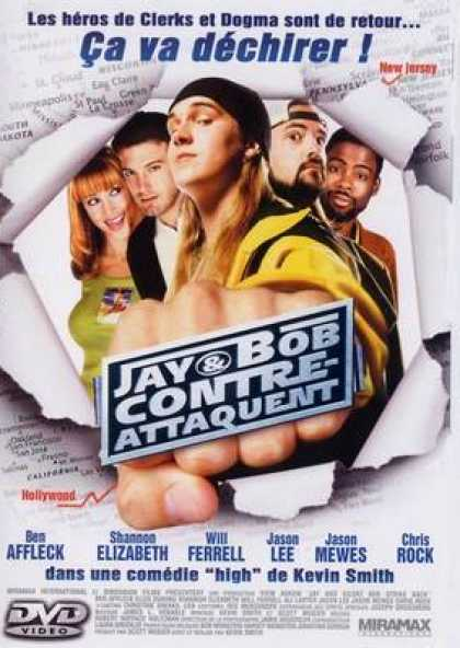 French DVDs - Jay And Silent Bob Strike