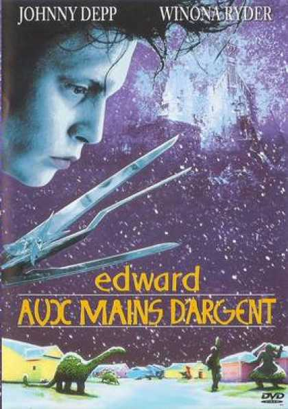 French DVDs - Edward Scissorhands