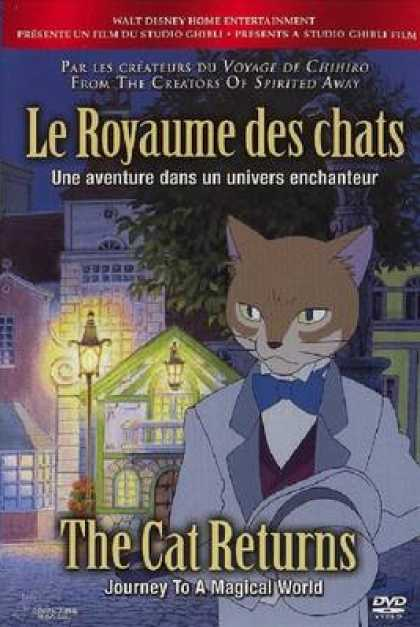 French DVDs - The Cat Returns