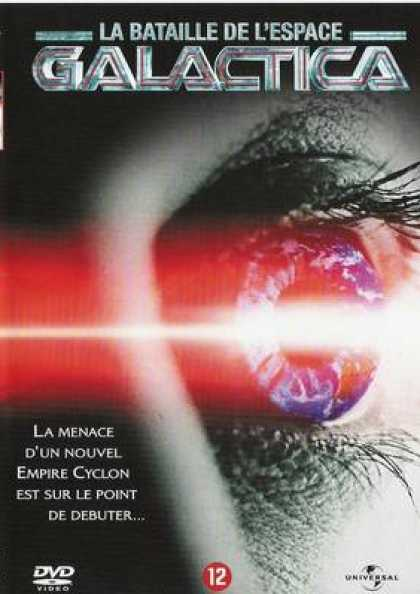 French DVDs - Battlestar Galactica 2003