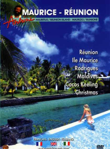 French DVDs - Maurice - Reunion