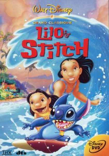 French DVDs - Lilo & Stitch