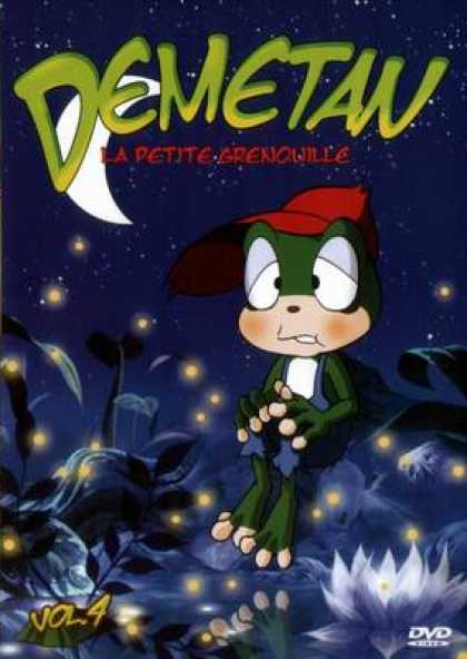French DVDs - Demetan The Little Frog Vol 4