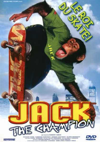 French DVDs - Jack The Champion