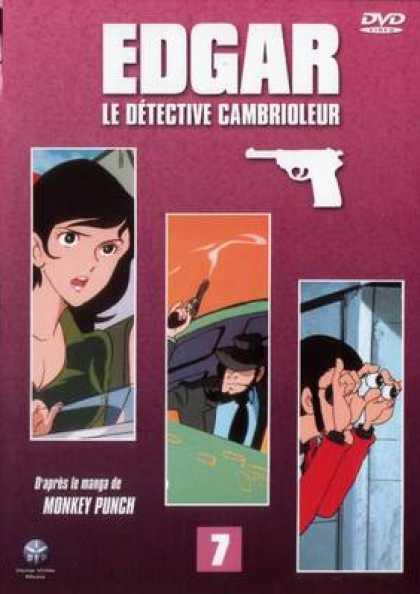 French DVDs - Edgar The Detective Vol 7