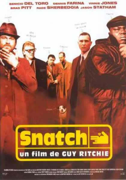 French DVDs - Snatch