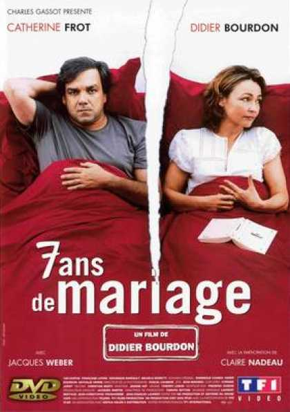 French DVDs - 7 Ans De Mariage
