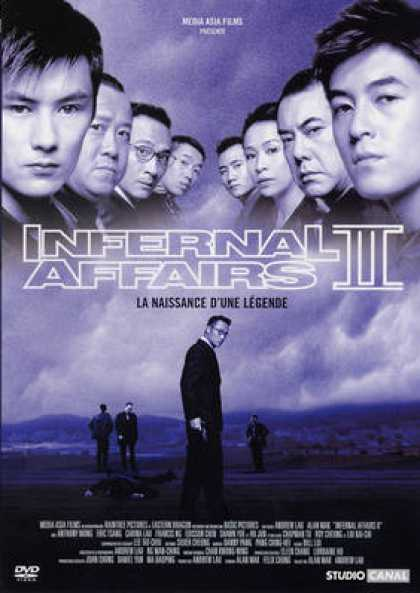 French DVDs - Infernal Affairs 2