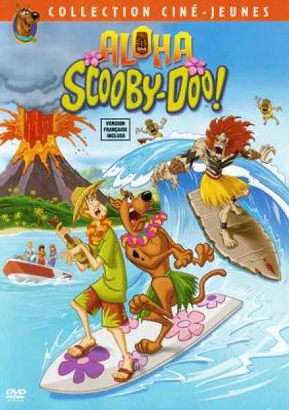 French DVDs - Aloha Scooby-Doo!