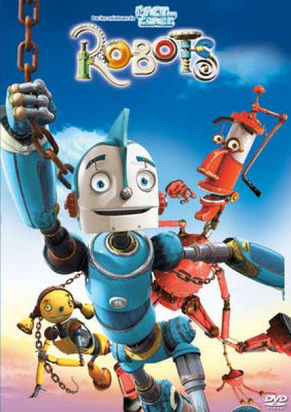 French DVDs - Robots