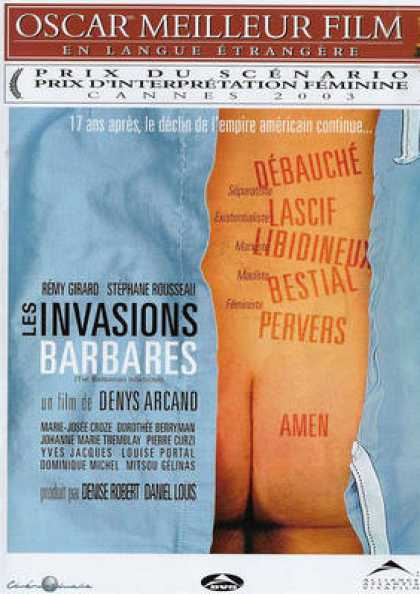 French DVDs - The Barbarian Invasions