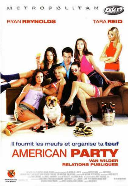 French DVDs - American Party