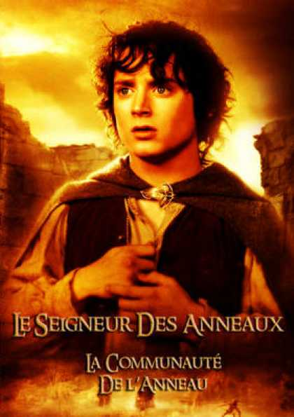 French DVDs - The Lord Of The Rings 1-3