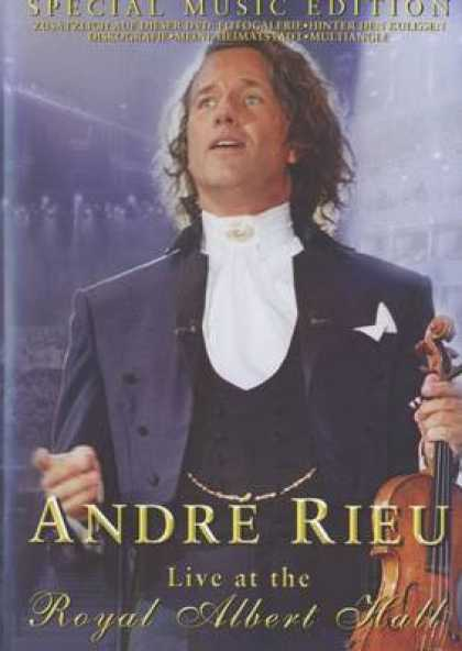 French DVDs - Andre Rieu Live At The Royal Albert Hall