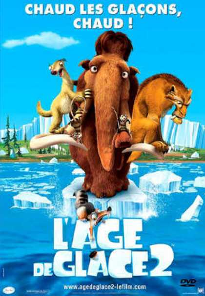 French DVDs - Ice Age 2 The Meltdown