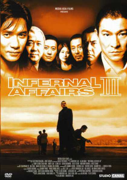 French DVDs - Infernal Affairs 3
