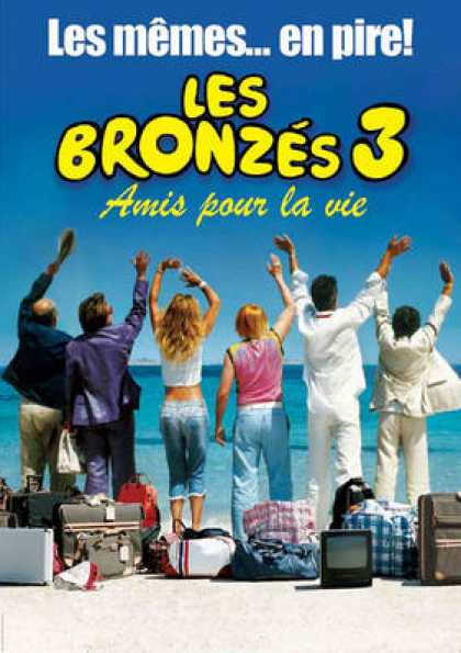 French DVDs - Les Bronzes 3