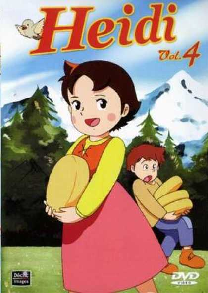 French DVDs - Heidi Vol.4