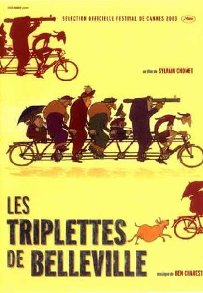 French DVDs - The Triplets Of Belleville