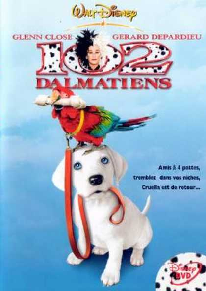 French DVDs - 102 Dalmatiens