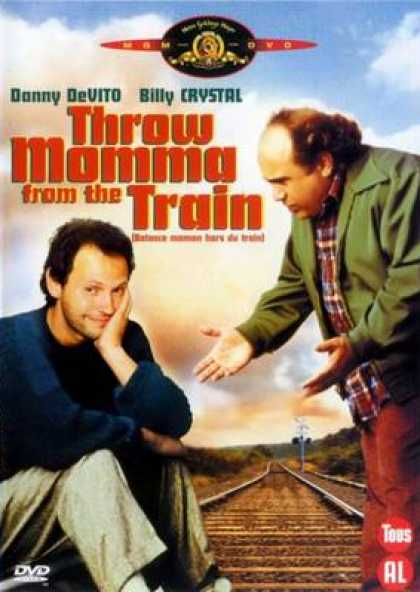 French DVDs - Throw Mama From The Train