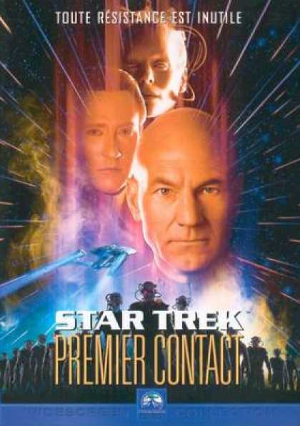 French DVDs - Star Trek First Contact