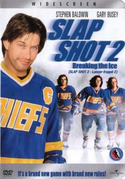 French DVDs - Slap Shot 2