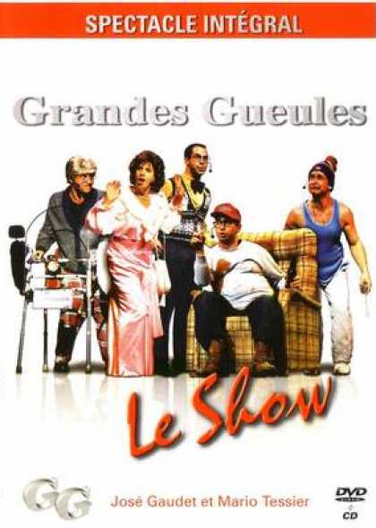 French DVDs - Grandes Gueules Le Show