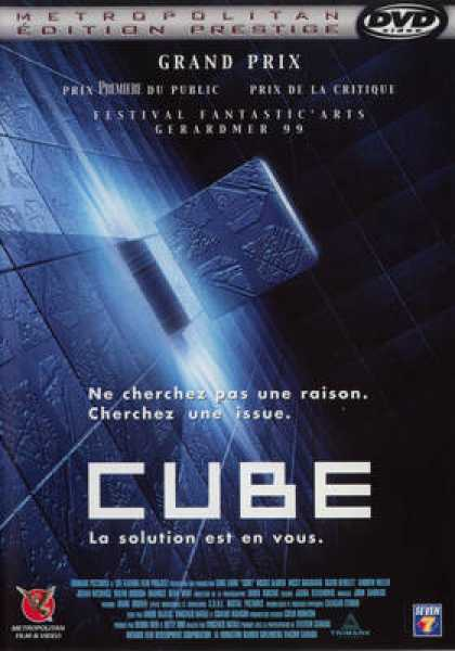 French DVDs - Cube