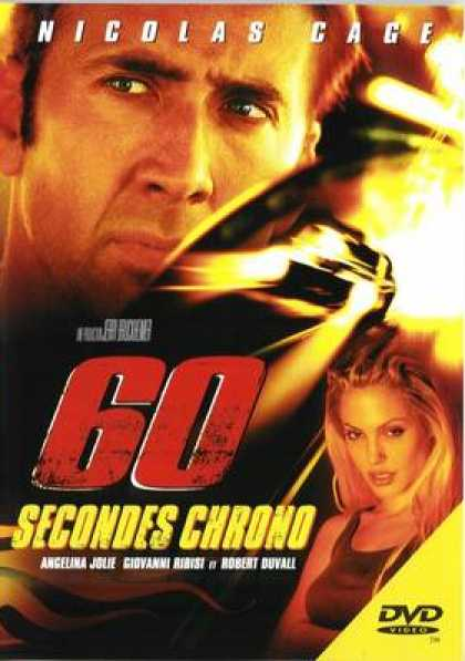 French DVDs - Gone In 60 Seconds