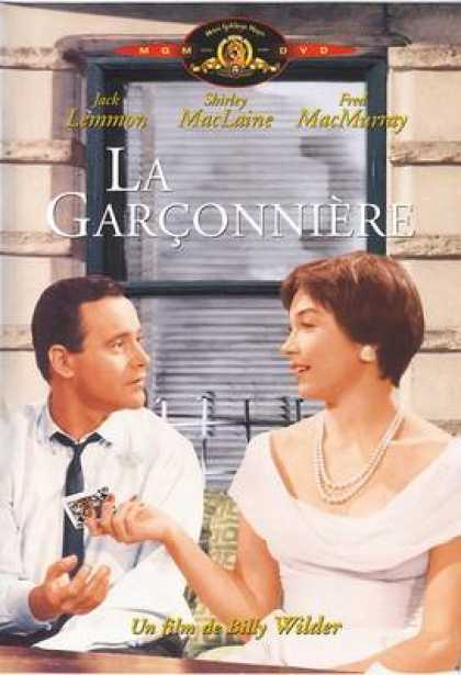French DVDs - La Garçonnière (The Apartment)