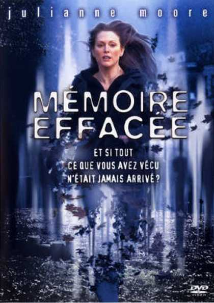 French DVDs - Memoire Effacee