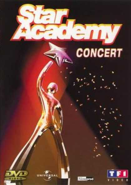 French DVDs - Star Academy In Concert