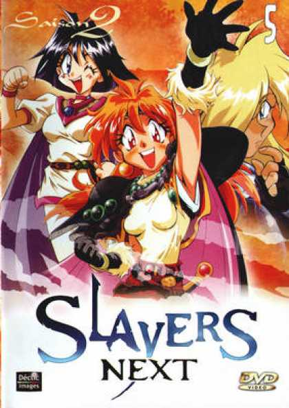 French DVDs - Slayers Season 2 Vol 5