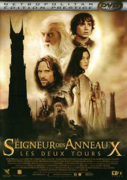 French DVDs - The Lord Of The Rings The Two Towers EE