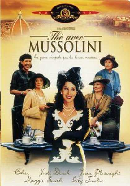 French DVDs - Tea With Mussolini