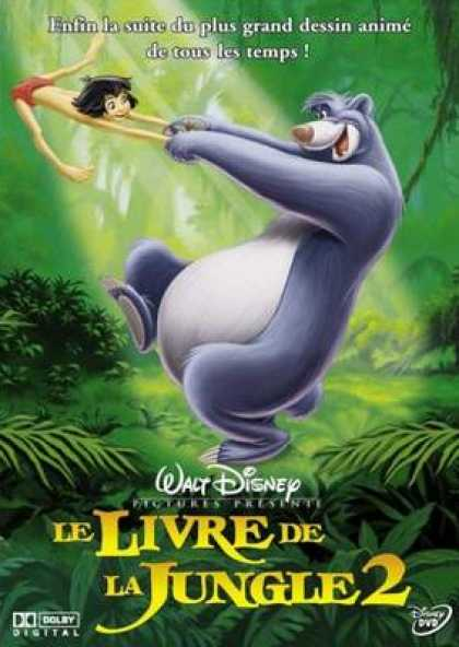 French DVDs - The Jungle Book 2