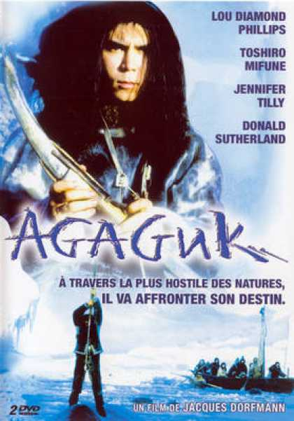 French DVDs - Agaguk