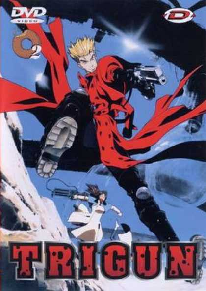 French DVDs - Trigun: Volume 2
