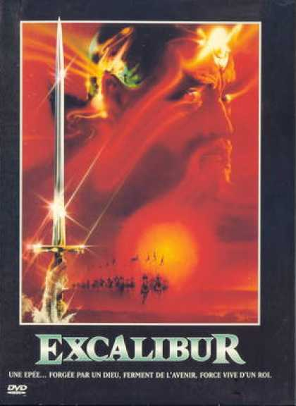 French DVDs - Excalibur