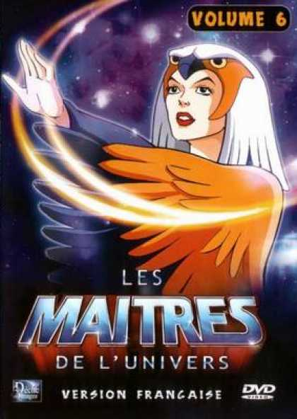 French DVDs - The Masters Of The Universe Vol 6