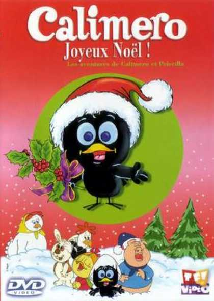 French DVDs - Calimero Merry Christmas