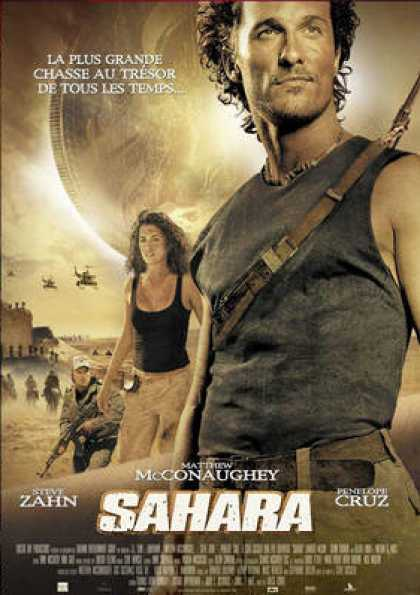 French DVDs - Sahara 2005