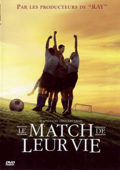 French DVDs - Le Match De Leur Vie
