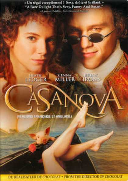French DVDs - Casanova FRENCH ENGLISH