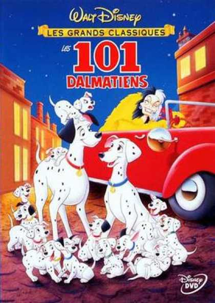 French DVDs - 101 Dalmatians French Canadian