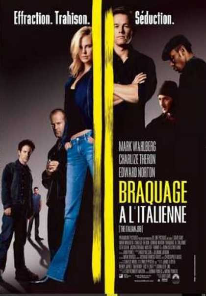 French DVDs - The Italian Job French Canadian