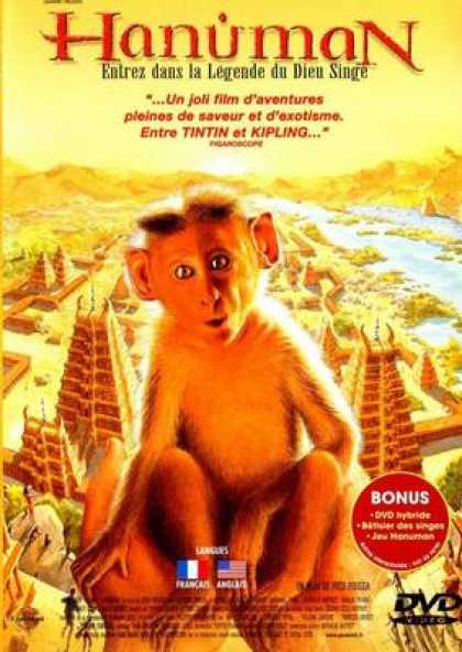 French DVDs - Hanuman