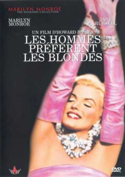 French DVDs - Gentlemen Prefer Blondes