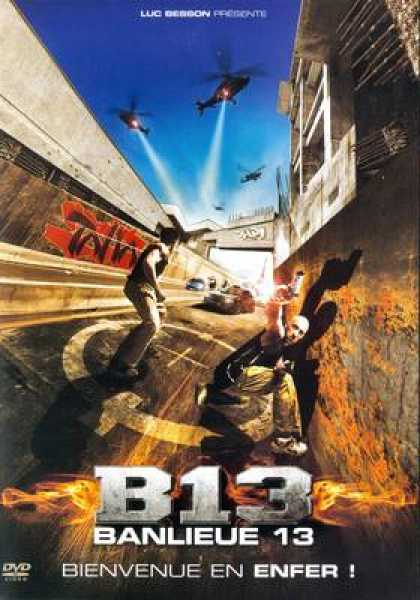 French DVDs - Banlieue 13